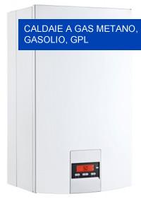 caldaie a gas metano gasolio gpl