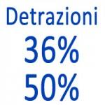 Detrazione caldaie 36 50 percento